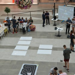 Robotická súťaž LEGObot 2018