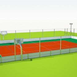 Viacúčelové multifunkčné športové ihrisko