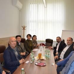 Čínska delegácia na návšteve SPŠE