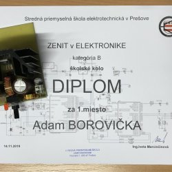 Zenit v elektronike - praktická časť školského kola